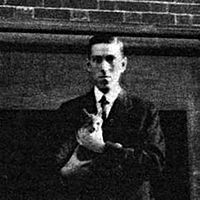 H.P. Lovecraft with a meow!