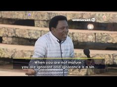 Emmanuel Tv, Tb Joshua, Vídeos Youtube, Videos, Music, Watch, Maturity, Interpersonal Relationship, Spirituality