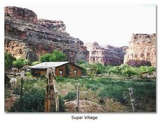 The Indian Village of Supai The Most Isolated Village in the United States