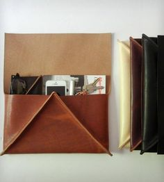 Large Leather Clutch | Women's Bags & Accessories | Crow SLC | Scoutmob Shoppe | Product Detail