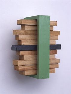 Sculpture 1 - KISHIO SUGA stack of space, 2001-2002