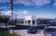 Gorno Ford Used Car Dealership by Sidock Architects