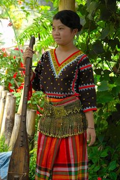 Philippines - Tboli or T'bolis, one of the indigenous people of South Mindanao Davao, Cebu, Makati, Cultura Filipina, Iloilo, Namaste, Vietnam, Filipiniana Dress, Filipino Culture