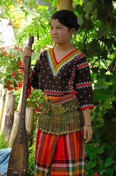 Philippines, Mindanao, Tboli girl