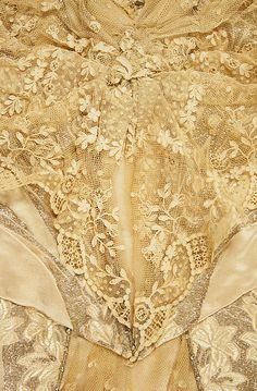 Dress, Evening.  House of Worth(French, 1858–1956).  Date: 1911–12. Culture: French. Medium: silk, metallic, bone.