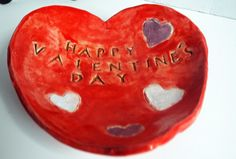 A personal favorite from my Etsy shop https://www.etsy.com/listing/217988378/valentines-day-heart-dish