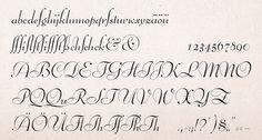 Bernhard Schönschrift | Font-Wiki | Typografie.info