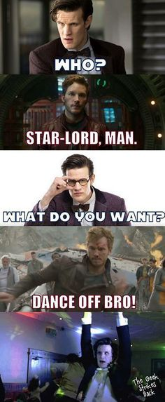 Guardians of the Galaxy VS Doctor Who!