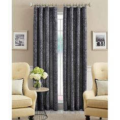 Possible Curtain   Better Homes And Gardens Distressed Curtain Panel