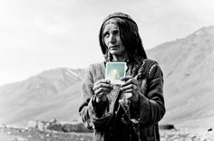 Polaroids of Afghanis Who've Never Seen a Photograph