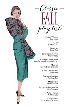 Classic Fall Playlist