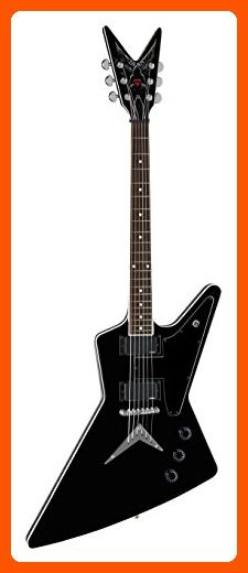 Dean EPZ Eric Peterson Solid-Body Electric Guitar, Classic Black - Fun stuff and gift ideas (*Amazon Partner-Link)