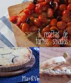 Mar&Vi Creative Studio - España: Hoy cocino yo: 3 recetas de quiché y tartas saladas