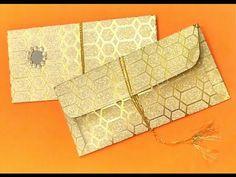 Gift Envelope (Shagun Envelope) - YouTube