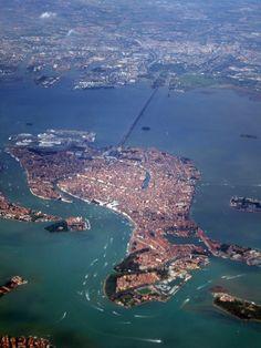 Venice, Italy by Air