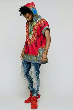 Hooded Dashiki