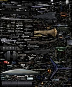 Every spaceship ever created in one infographic