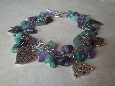 Irish Charm Bracelet by CellDara on Etsy