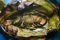 Banana Leaf Wrapped Whole Fish   Pati's Mexican Table
