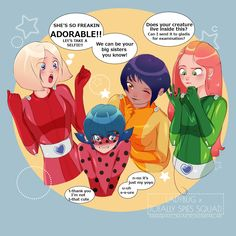Totally spies with Ladybug