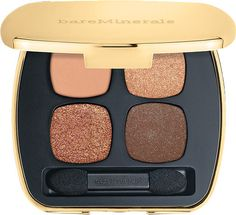 Shop eyeliner, mascara, and eyeshadow from bareMinerals. Eye makeup applies velvety smooth without tugging for stay-true color that won't smudge or fade. Mineral Eyeshadow, Mac Eyeshadow, Eyeshadow Palette, Copper Eyeshadow, Shimmer Eyeshadow, Love Makeup, Makeup Tips, Beauty Makeup, Makeup Set