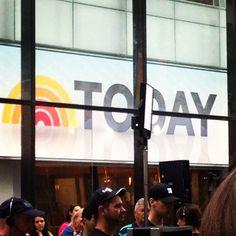 Today Show, New York City, New York, USA