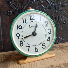 antique clock c. 1960... Home Decor... Dec 04. $21.50, via Etsy.