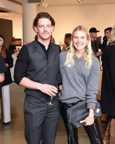 Luke Cleary and Dree Hemingway New York Party, Dree Hemingway, Autism Awareness, The One, Benefit, Vogue, Pants, Inspirational, Models
