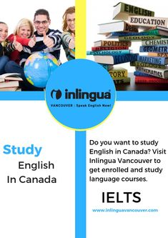 To help candidates prepare for the test in an effective manner, there are many institutions that come up with a wide range of IELTS preparation course. English Study, Learn English, English Language Course, Language School, Education English, Chemist, Ielts, Geology, Vancouver