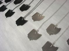 I have always wanted the great state of ohio as a necklace.