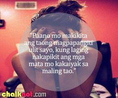 tagalog quotes – maling tao Pinoy Quotes, Tagalog Love Quotes, Sad Love Quotes, Me Quotes, Hugot Lines Tagalog Love, Patama Quotes, Hugot Quotes, Brainy Quotes, Filipina