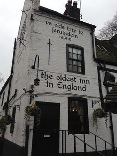 Ye Olde Trip to Jerusalem – Nottingham, England - Gastro Obscura Christmas In England, Nottingham, Jerusalem, Old Things, Places, Lugares