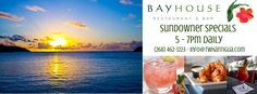 Sunsets + Cocktails = PARADISE at Bayhouse Restaurant & Bar.