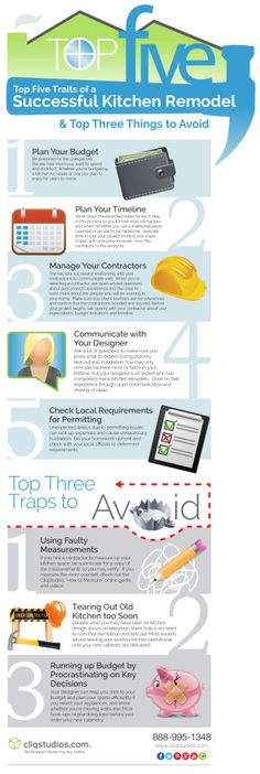 CliqStudios-top-five-infographic-2000px (2) #TransformYourKitchen