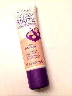 Rimmel Stay Matte Liquid Mousse Foundation - The best drugstore foundation I've ever used!