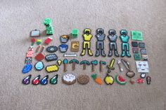 My Minecraft perler bead collection by ogel
