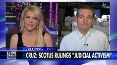 Megyn Kelly To Cruz: Won't Judicial Elections Make 'Court More Political?'