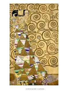 L'Attesa - Gustav Klimt