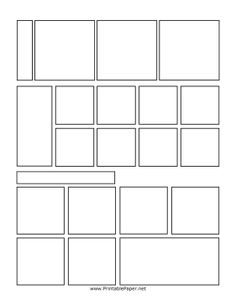 our blank comic book templates feature 30 page layouts and lots of styled speech bubbles and. Black Bedroom Furniture Sets. Home Design Ideas