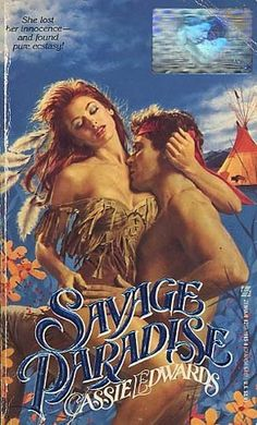 Savage Paradise by Cassie Edwards Historical Romance Novels, Romance Novel Covers, Romance Art, Romance Movies, Vintage Romance, Historischer Roman, Sexy Painting, Books For Moms, Classic Comics