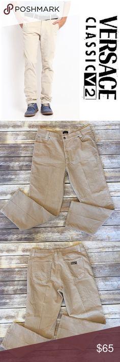 ❗1-DAY SALE❗Men's V2 Versace Corduroy Pants Men's Versace V2 Corduroy Pants. Size 42. Pic 1 for styling inspiration purposes Versace Pants Corduroy