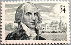 James Madison3 2001 Issue-34c - U.S. presidents on U.S. postage stamps - Wikipedia, the free encyclopedia