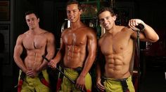 Here's three cheeky chappies for you to admire! Happy #FiremanFriday everyone!