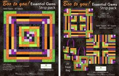 Essential Gems -  Boo to You! Project