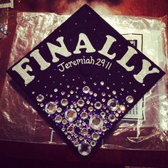 My graduation cap! Tarleton state university class of 2014