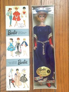 5458405aa3 Vintage Rare 1960s Barbie Guinevere Dressed Doll  873 Complete Mint in box