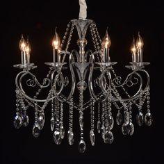 Klassischer Kerzen Kronleuchter 8-flammig MW-Light 373011808