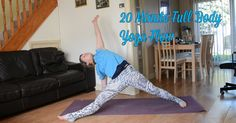20 Minute Full Body Yoga Flow - Jayne Becca Yoga