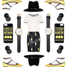 A fashion look from August 2015 featuring white shirt, leather skirts and ballet flats. Browse and shop related looks. Black N Yellow, Topshop, Shoe Bag, Polyvore, Valentino, Leather, Stuff To Buy, Shopping, Collection