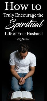 What can a wife do when her husband is down? Discouraged? Even defeated? Here are some ways you can encourage your man when he could use some lifting up! via @Club31Women